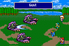 Gust being cast